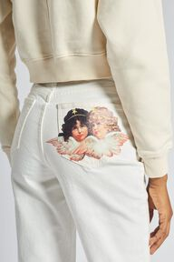 Angels Tara Tapered Jeans White