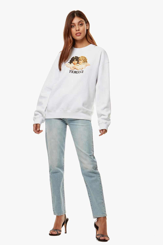 Angels Sweatshirt White