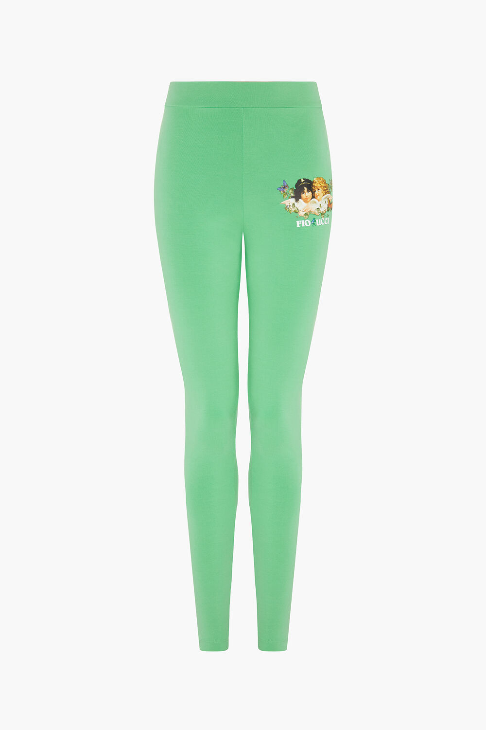 Woodland Angels Leggings Green