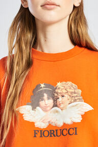 Angels Sweatshirt Orange