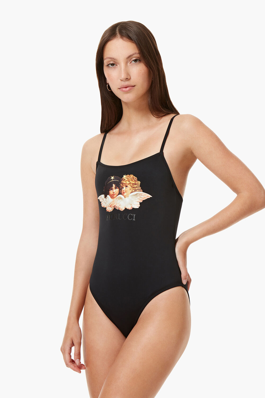 Angels Swimsuit Black