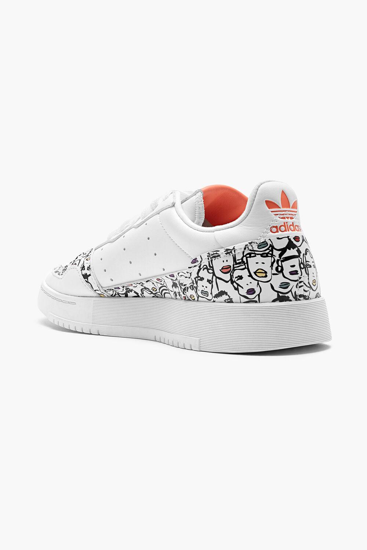 Adidas x Fiorucci Supercourt White