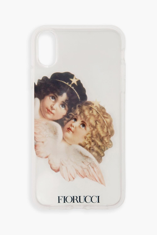 Angels Transparent iPhone Case