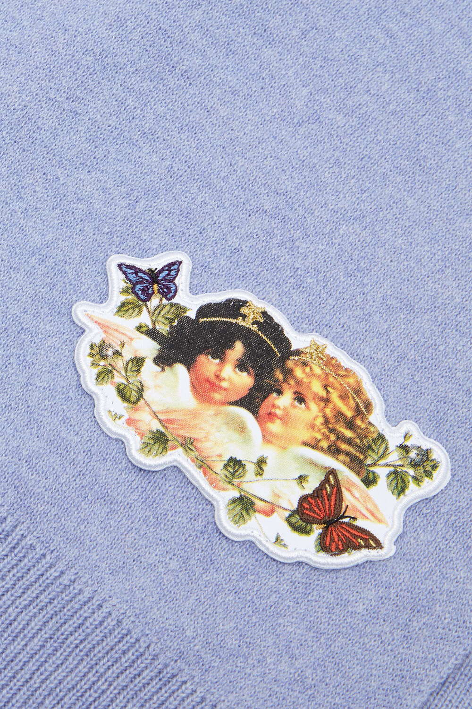 Woodland Angel Scarf Lilac