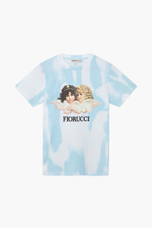 Tie Dye Angels T-Shirt Blue