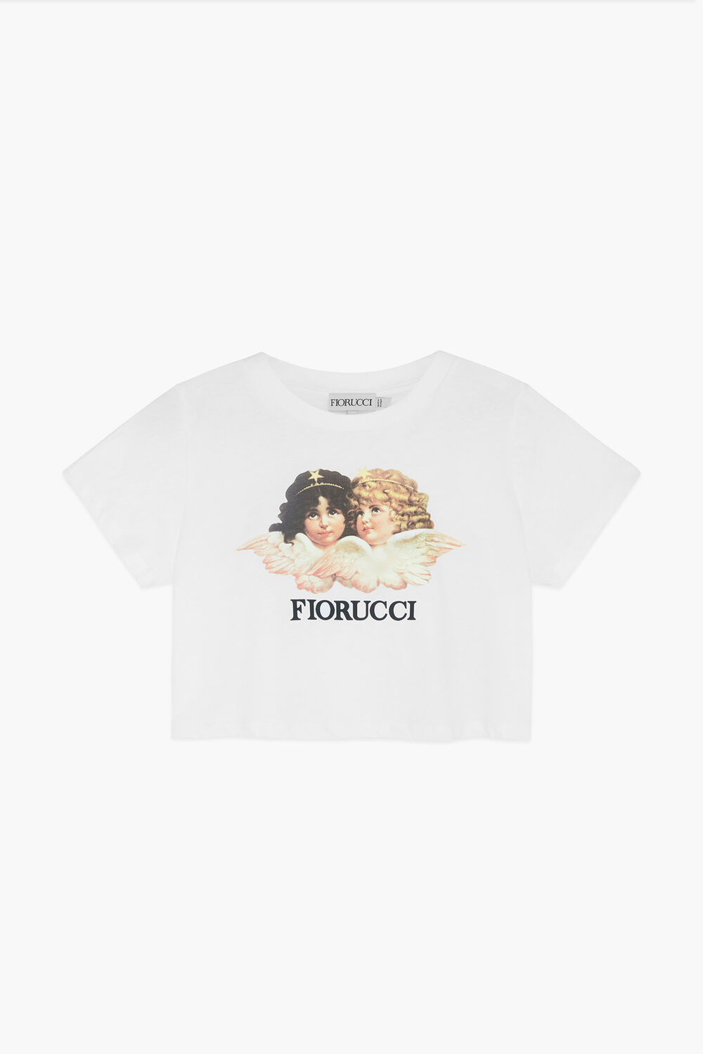 Angels Crop T-Shirt White