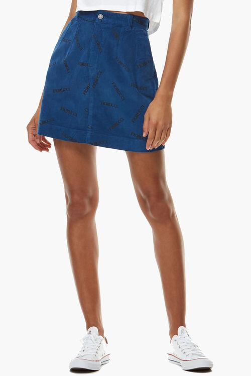 Viki Corduroy Skirt