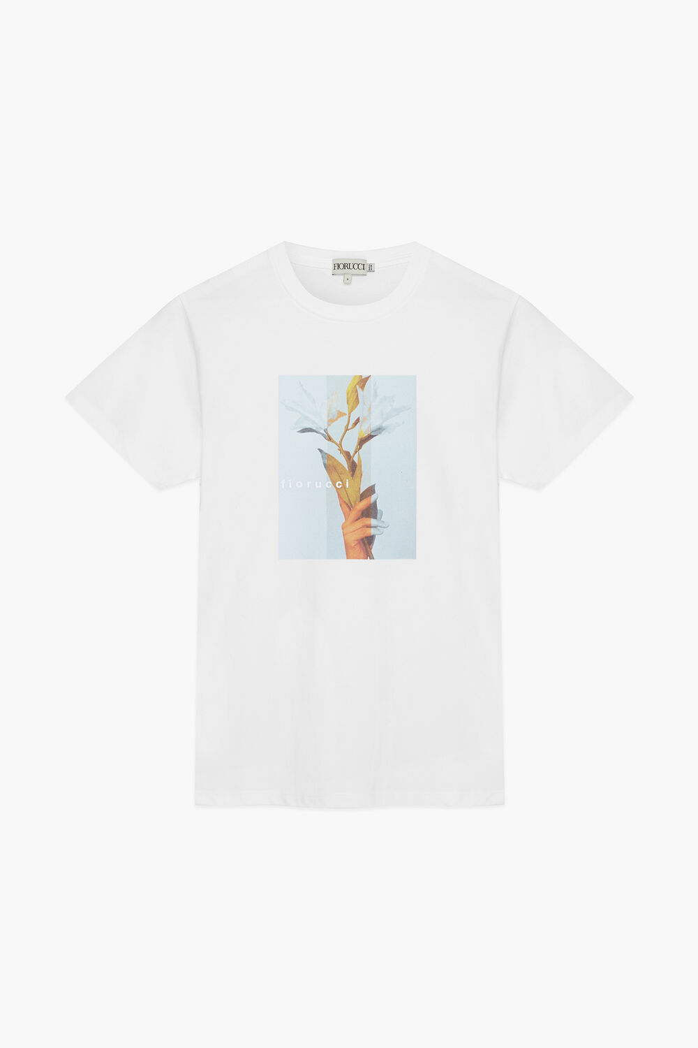 Woodland Floral Bloom T-Shirt White