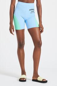 Equipe Logo Scuba Cycling Shorts Blue
