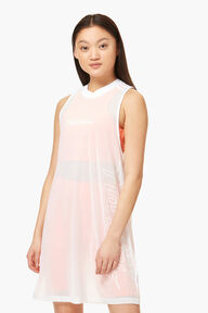 Adidas x Fiorucci Mesh Dress White