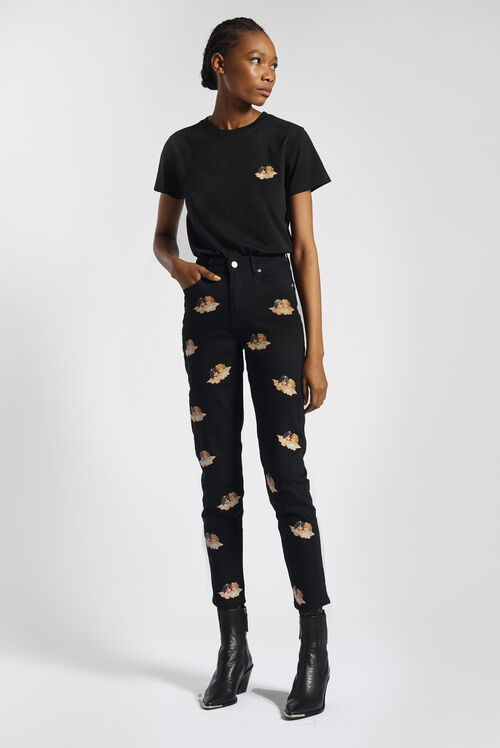 Icon Angel T-Shirt Black