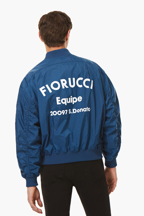 Lou Bomber Jacket Blue