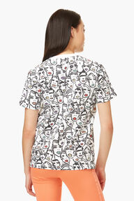 Adidas x Fiorucci Faces Print T-Shirt