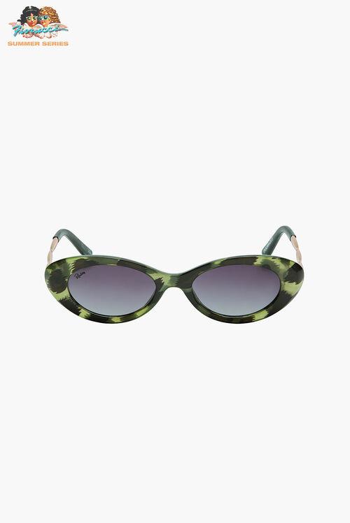 Reality Eyewear High-Society Jungle Green Sunglasses