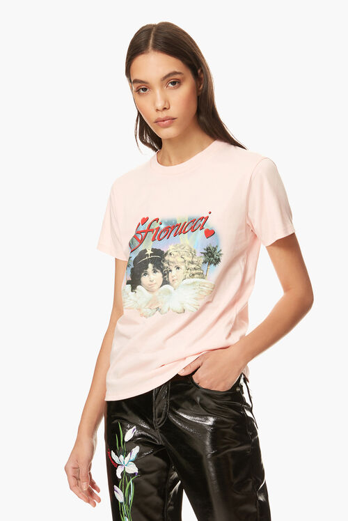 Hollywood Angels T-Shirt Pink