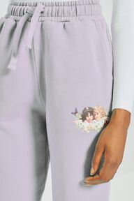 Woodland Angels Patch Jogger Lilac