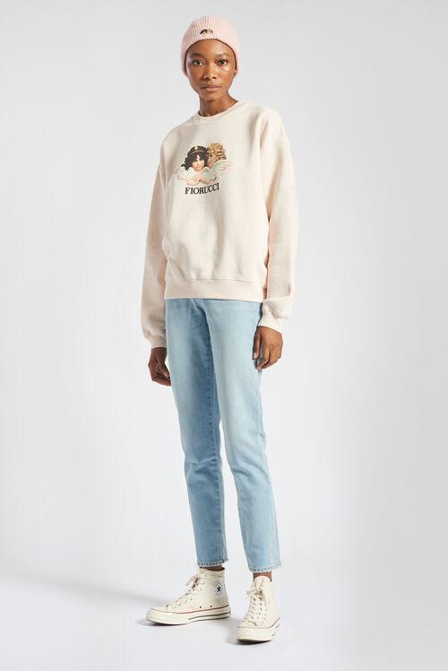 Angels Sweatshirt Pale Pink