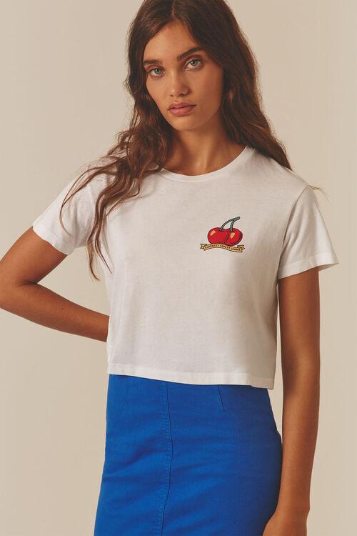 Cherries Crop T-Shirt