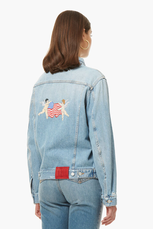Nico Jacket NY Patches Light Vintage