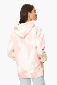 Tie Dye Angels Hoodie Pink