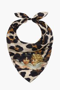 Leopard Print Angels Bandana