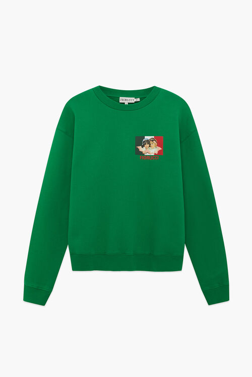 Speed Queen Angels Sweatshirt Green