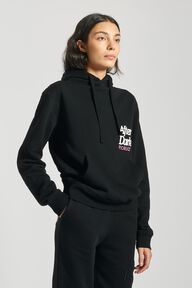 After Dark Logo Hoodie Black