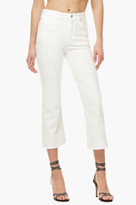 Viva Angel Patch Jeans White