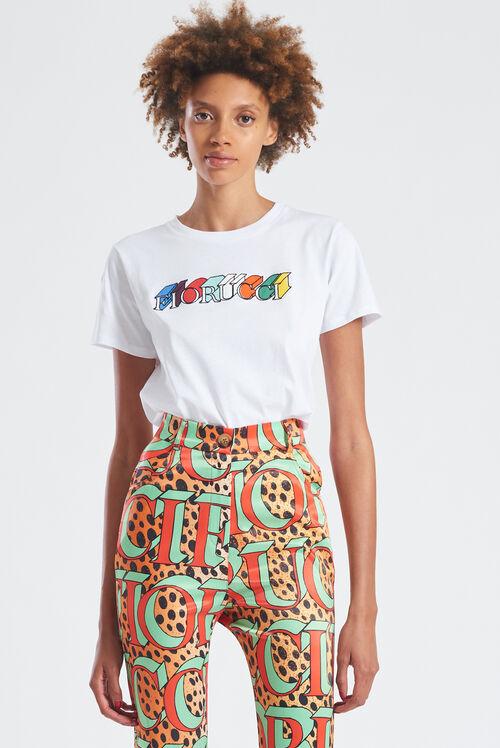 Monogram Logo T-Shirt White