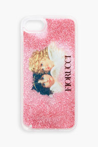 Fiorucci Liquid Angels Glitter iPhone Case