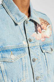Angels Patch Denim Jacket Blue